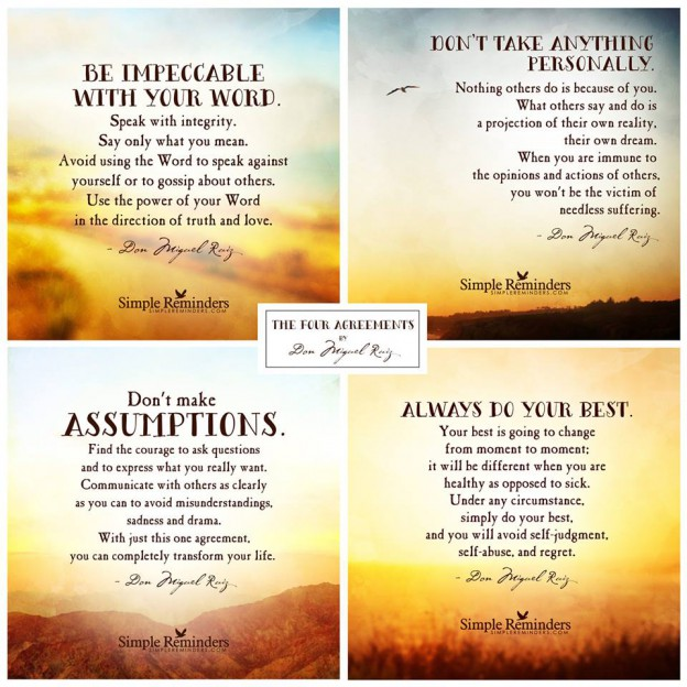 The Four Agreements Book Worth Reading Grandmas Stories